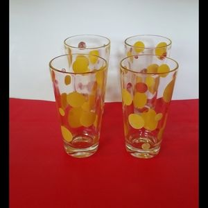 Vantage 5 oz drinking glasses lot of four.